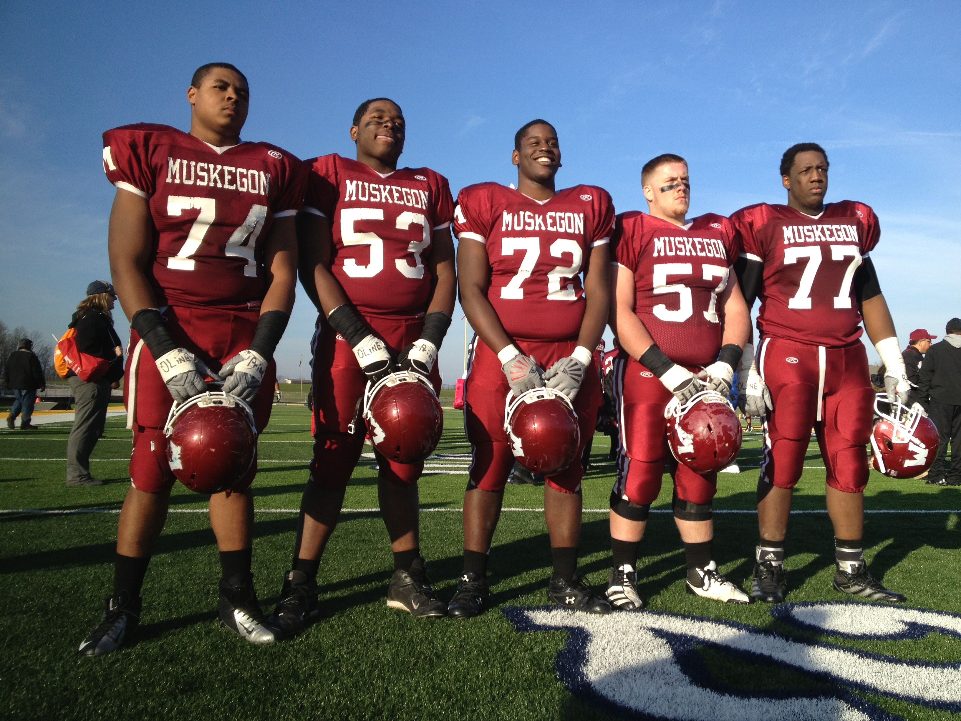 Going for 800: Looking at Muskegon High School's football glory ...