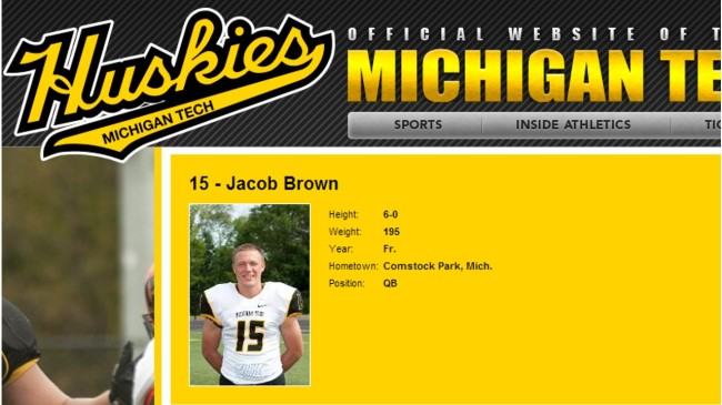 Jake Brown - Michigan Tech Football