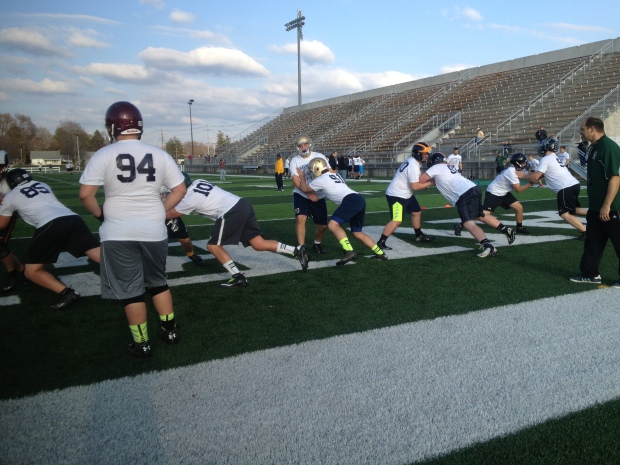 Lake Michigan Football Report Exposure Camp 2014 - Traverse City, MI