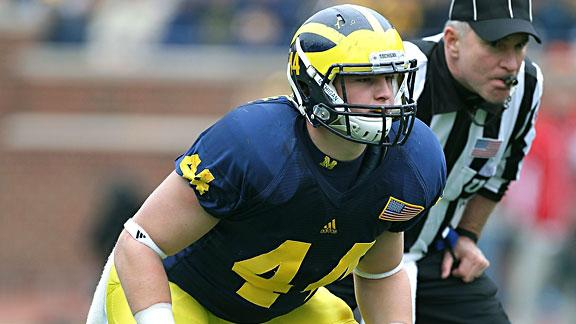 West Ottawa's own Desmond Morgan will be a four-year stalwart at linebacker for U-M.